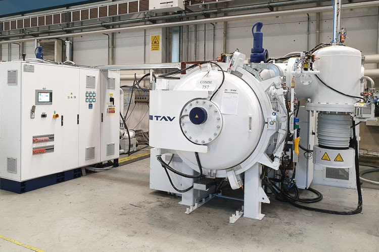 TAV TAV TPHF 40/40/60 | Used vacuum furnaces