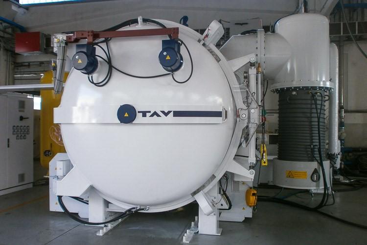 TAV VACUUM FURNACES TAV TPHF 1200L (10 bar) | Used vacuum furnaces