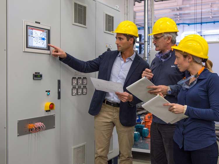 工业机械和设备 | 现场教育